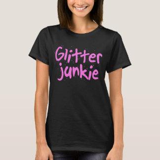 T-shirt Chemise de drogué de parties scintillantes