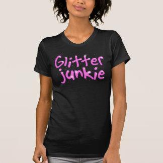 T-shirt Chemise de drogué de scintillement