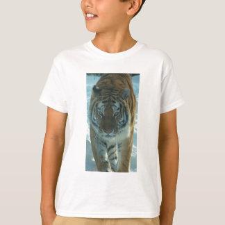 T-shirt Chemise de égrappage d'enfants de tigre sibérien