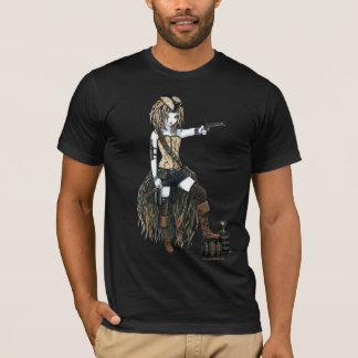 T-shirt Chemise de Fae de lune de bateau de pirate de ciel