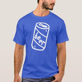 T-shirt Chemise de fan de canette de bière de bande