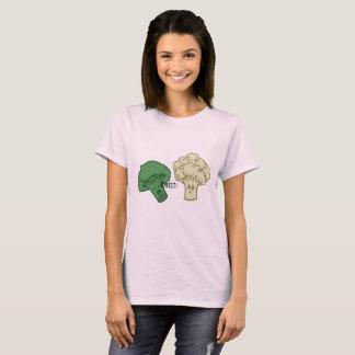 T-shirt Chemise de fantôme de brocoli et de chou-fleur