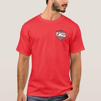 T-shirt Chemise de FC de coins du rouge quatre
