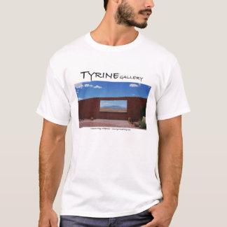 T-shirt Chemise de fenêtre de cratère de météore