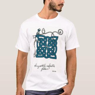 T-shirt Chemise de fibres d'amiante de chrysotile
