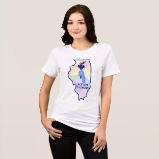 T-shirt Chemise de FIERTÉ de l'Illinois de l'action des