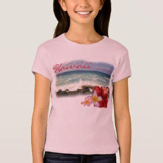 T-shirt Chemise de filles de fleurs d'Hawaï