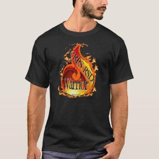 T-shirt Chemise de flamme de guerrier de CRPS/RSD