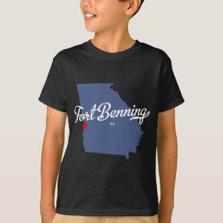 T-shirt Chemise de Fort Benning la Géorgie GA