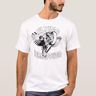T-shirt chemise de foudre de buell de puissances en