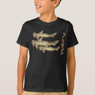 T-shirt Chemise de garçons de requin de poisson-marteau de