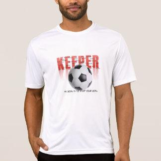 T-shirt Chemise de gardien de but du football