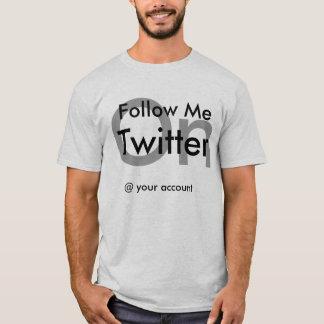 T-shirt chemise de gazouillement