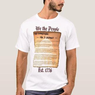 T-shirt Chemise de Glenn Beck de 5 engagements