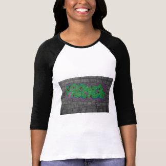 T-shirt Chemise de graffiti de prière