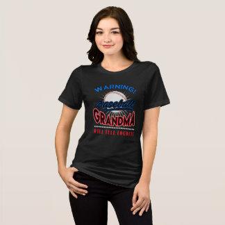T-shirt Chemise de grand-maman de base-ball,