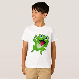 T-shirt Chemise de grenouille d'enfants