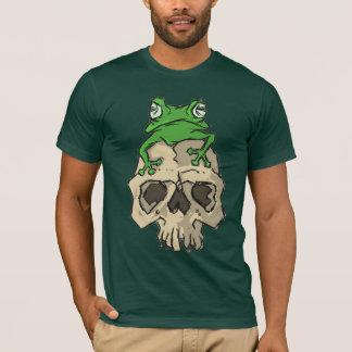 T-shirt Chemise de grenouille et de crâne