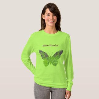 T-shirt Chemise de guerrier de fibromyalgie pour des