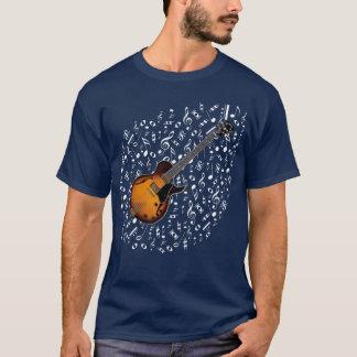 T-shirt Chemise de guitare électrique de rayon de soleil