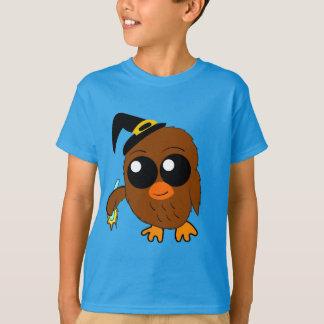 T-shirt Chemise de Halloween de sorcière de hibou