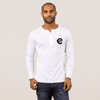 T-shirt Chemise de Henley de rivière d'Edmonton