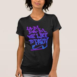 T-shirt chemise de HIP HOP de la vieille école des femmes