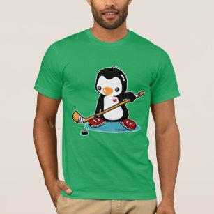T-shirt Chemise de hockey sur glace