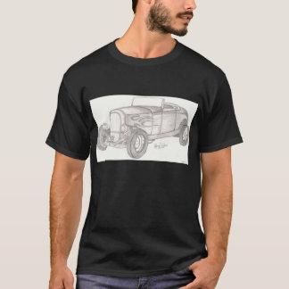 T-shirt Chemise de hot rod