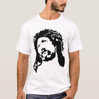 T-shirt Chemise de Jésus de pochoir