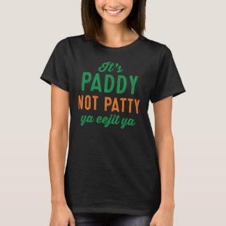 T-shirt Chemise de jour de Patty St Patrick de paddy pas