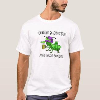 T-shirt Chemise de jour de St Urho - évitez la