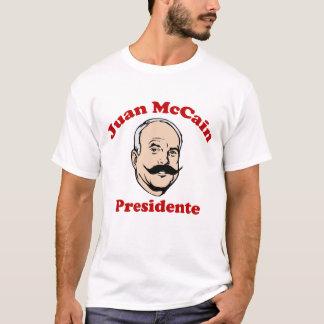 T-shirt Chemise de Juan McCain Para Presidente