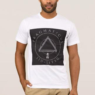 T-shirt Chemise de kanji de triangle de jitsu de Jiu