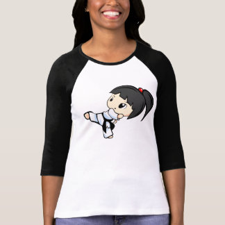 T-shirt Chemise de Kickin - chemise d'arts martiaux pour