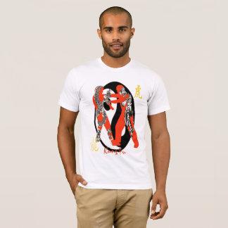 T-shirt Chemise de Kung Fu de tigre de dragon