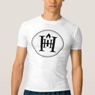 T-shirt Chemise de la compression des hommes de la bougie