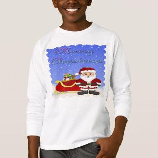 T-shirt Chemise de la douille de l'enfant de Père Noël de