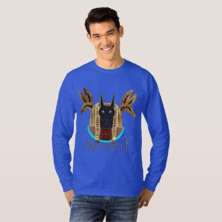 T-shirt Chemise de la douille des hommes antiques d'Anubis