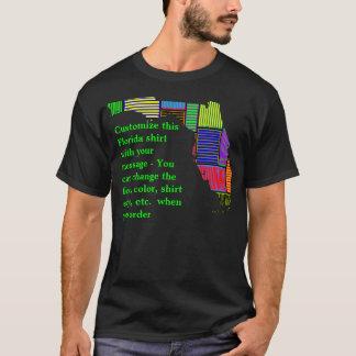 T-shirt Chemise de la Floride - coutume avec l'élection ou