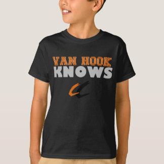 T-shirt Chemise de la jeunesse du football de Van Hook