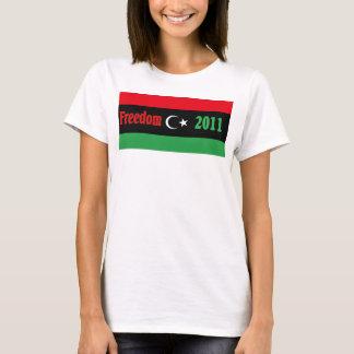 T-shirt Chemise de la Libye - ليبياالحرية