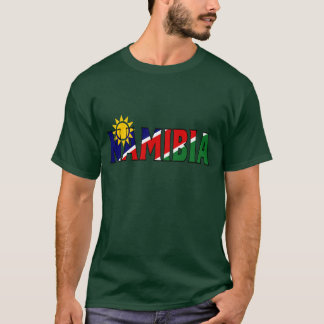 T-shirt Chemise de la Namibie