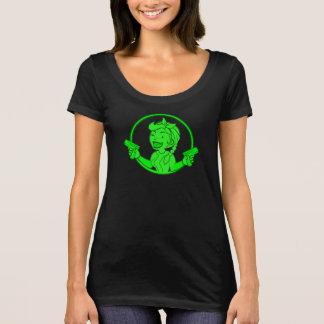 T-shirt Chemise de la parodie de la femme des retombées