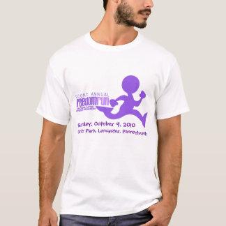 T-shirt Chemise de la publicité de course de liberté