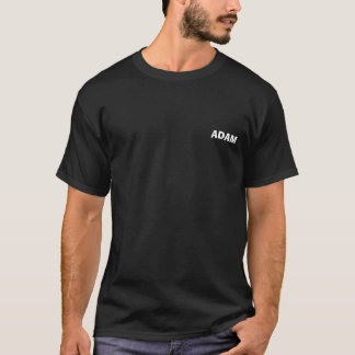 T-shirt Chemise de la sécurité d'Adam