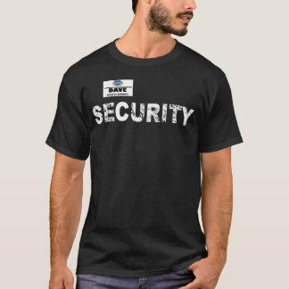 T-shirt Chemise de la sécurité de Dave