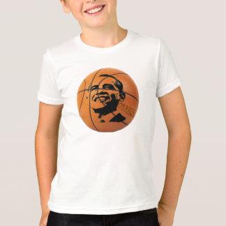 T-shirt Chemise de la sonnerie de l'enfant de basket-ball