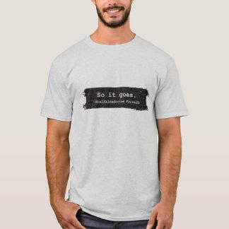 T-shirt Chemise de l'abattoir cinq de Kurt Vonnegut