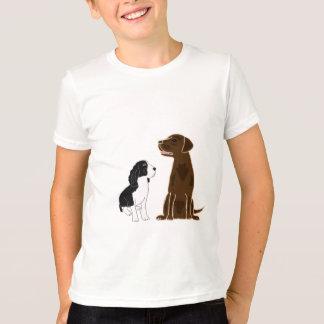 T-shirt Chemise de laboratoire de springer spaniel et de